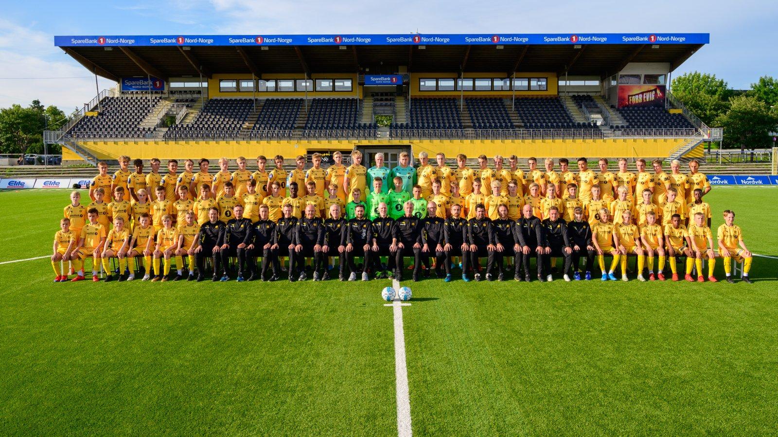Bodø/Glimts akademi 2019.