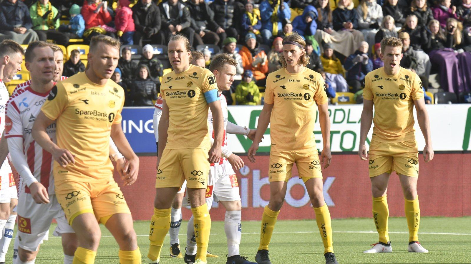 Bodø/Glimt mot TIL på hjemmebane.