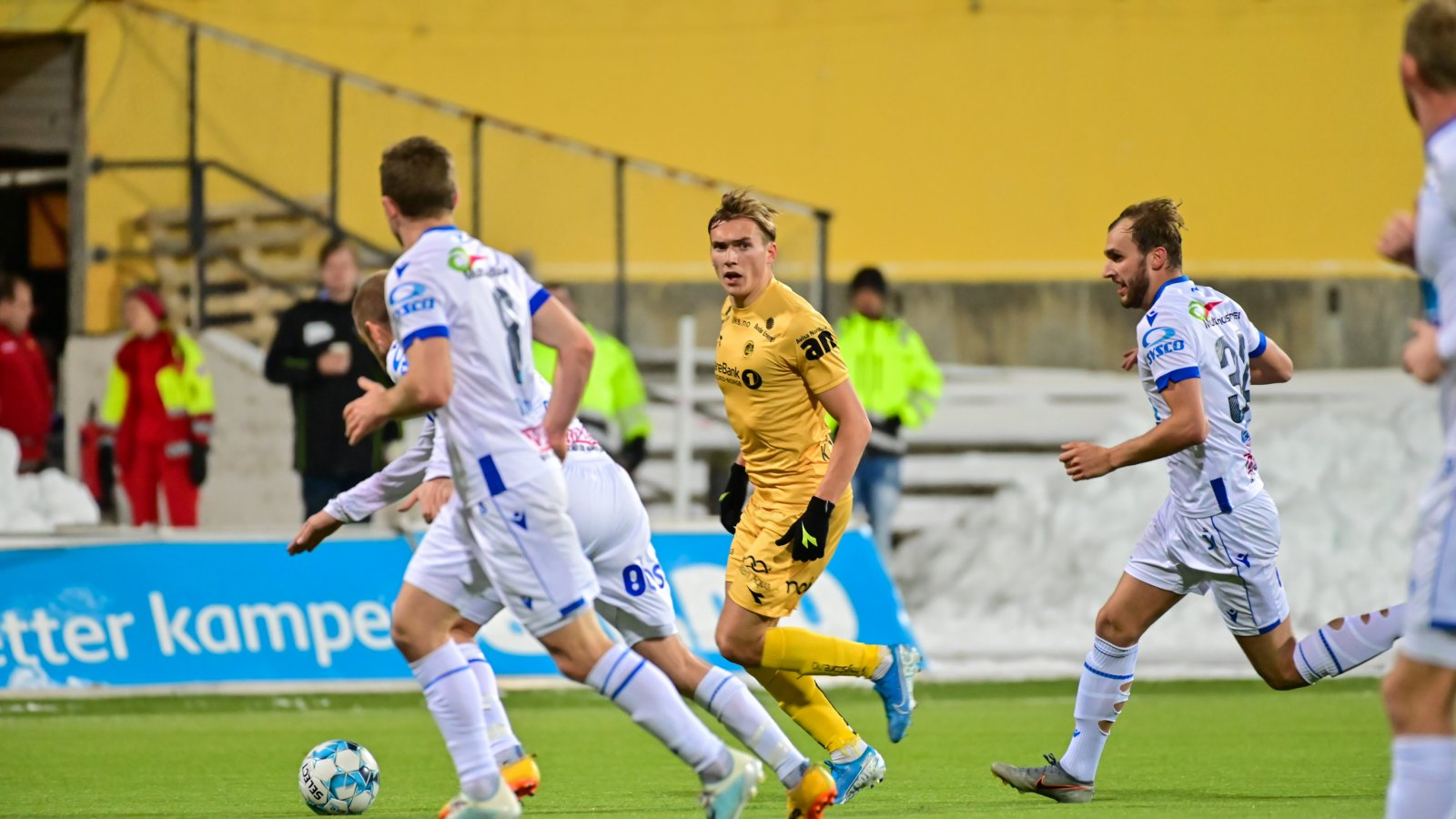 Morten Konradsen i hjemmekampen mot Haugesund 2019.