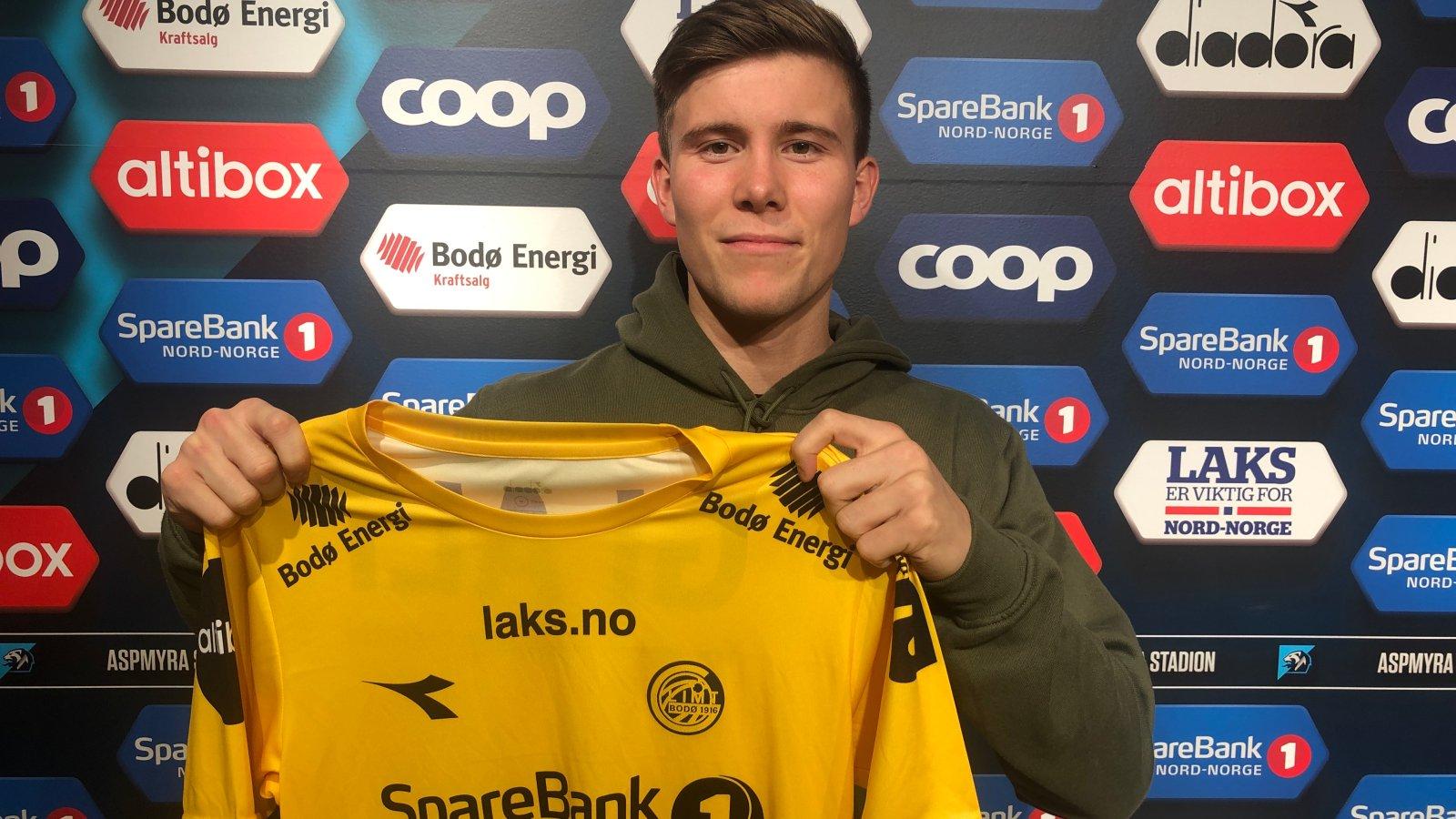 Alfons Sampsted signert for Glimt.