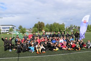 Fotballaktivitet i Bindal.