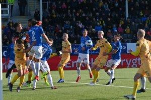 Bodø/Glimt mot Molde på Aspmyra.