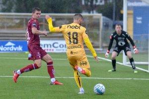 Philip Zinckernagel satt det første målet i kampen hjemme mot Kristiansund.