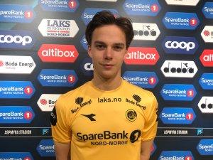 Felix Horn Myhre på utlån til Bodø/Glimt.
