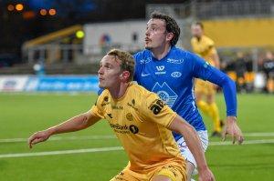 Marius Lode under hjemmekampen mot Molde.