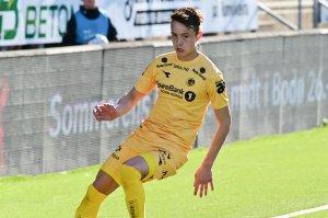 Håkon Evjen under hjemmekampen mot Strømsgodset i 2019.