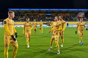 Bodø/Glimt A-lag. Kamp mot Haugesund hjemme.