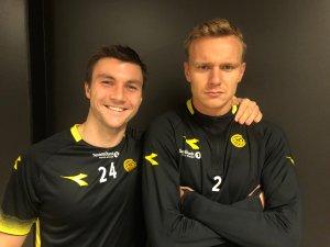 Aleksander Foosnæs og Marius Lode. Botsjefer 2020.