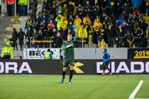 Kaptein Ricardo Friedrich under kampen mot Rosenborg.