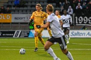 Ulrik Saltnes i kampen mot Rosenborg.