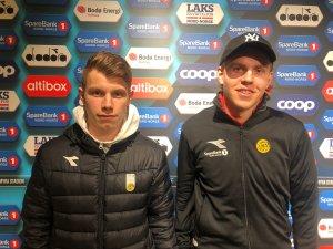 Runar Hauge og Jens Petter Hauge.