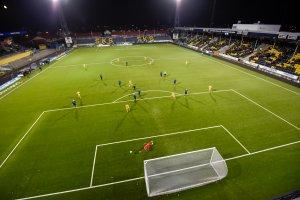 Oversiktsbilde over kampen mellom Bodø/Glimt og Stabæk.