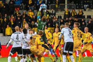 Bodø/Glimt mot Rosenborg 31. mars 2019.