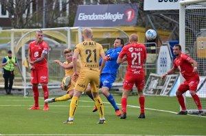 Fredrik André Bjørkan satt ballen i mål, men det endte 1-2 hjemme mot Brann.