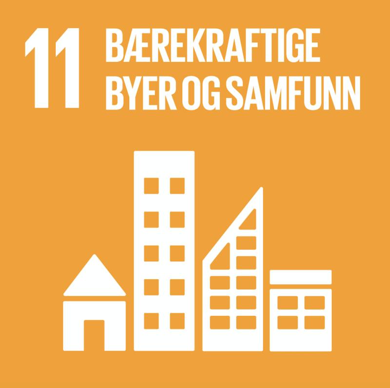 FNs bærekraftsmål nummer 11.