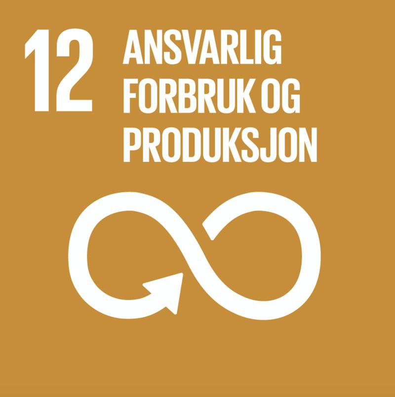 FNs bærekraftsmål nummer 12.