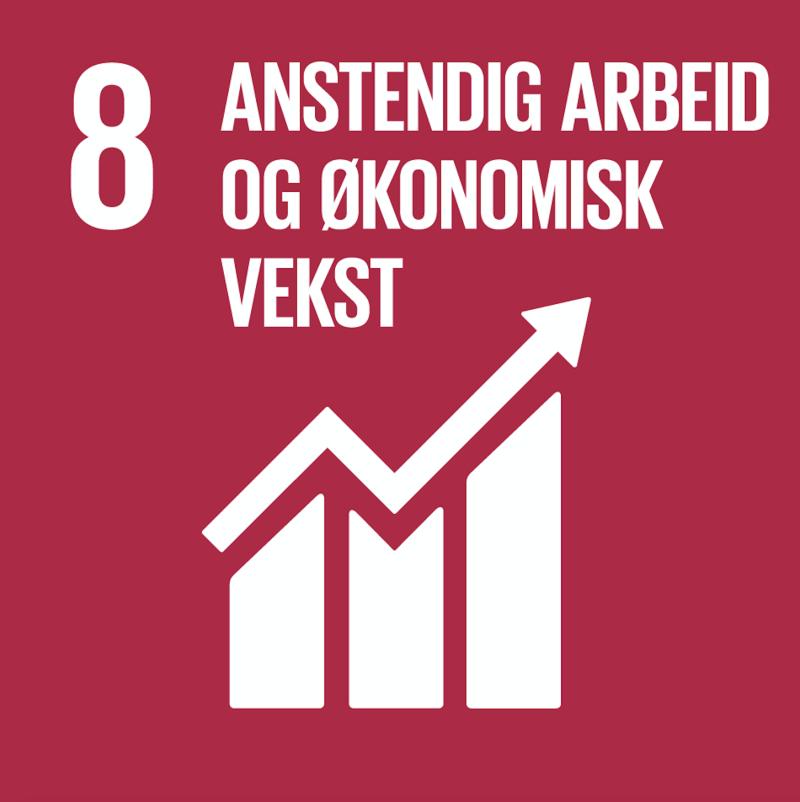 FNs bærekraftsmål nummer 8.