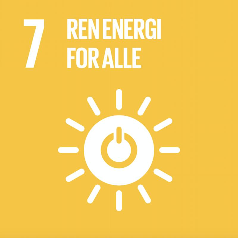 FNs bærekraftsmål nummer 7.