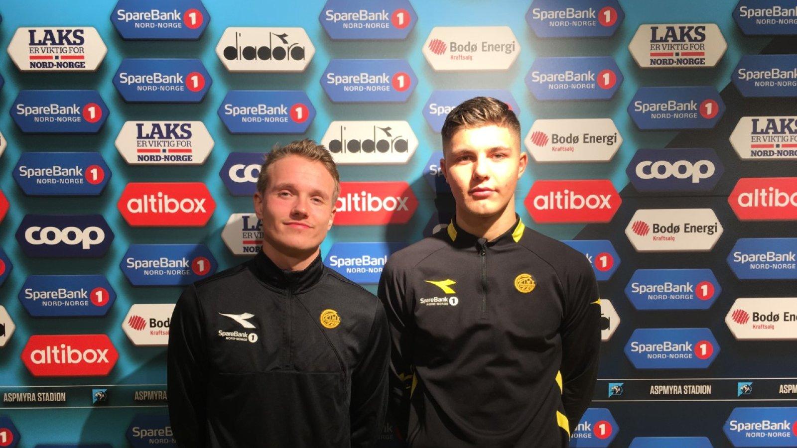 Adrian Skindlo og Andreas van der Spa til utlån.