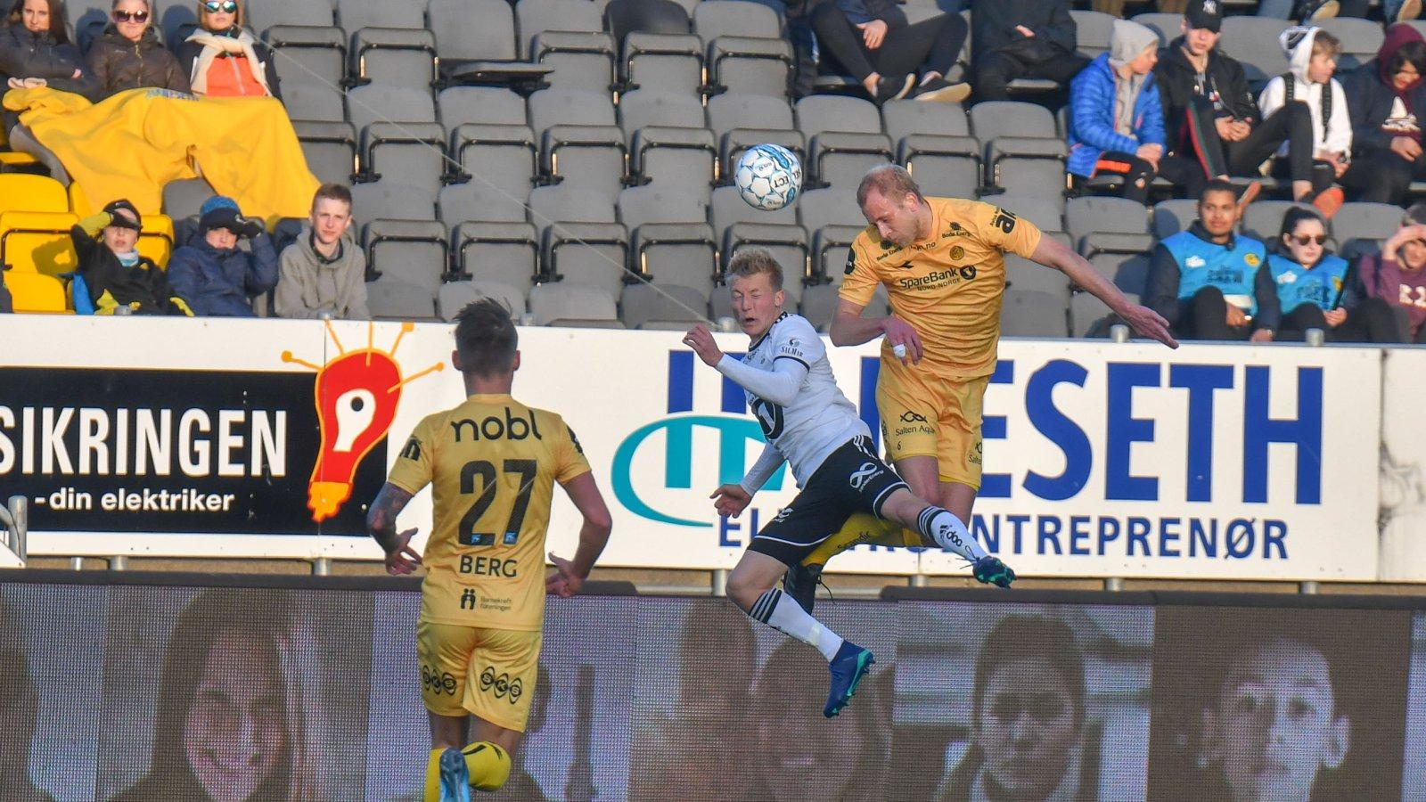 Patrick Berg og Vegard Leikvoll Moberg mot Rosenborg.