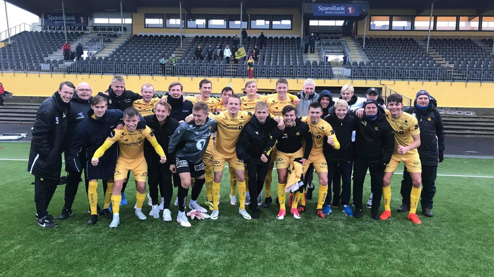 B-laget klare for 3. divisjon.