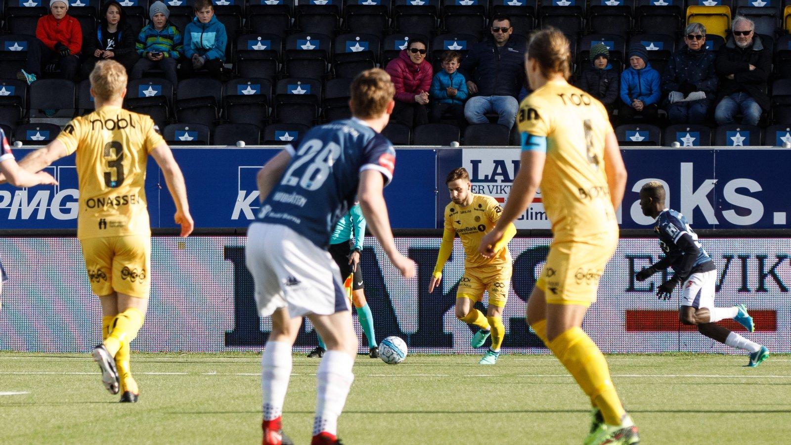 Bodø/Glimt mot Strømsgodset på hjemmebane.