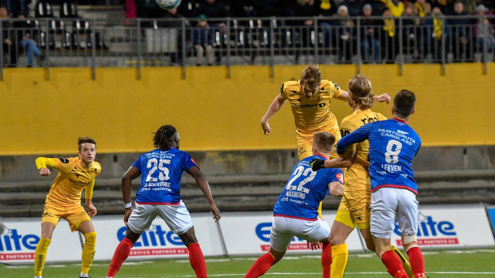 Bodø/Glimt møtte Vålerenga på hjemmebane. Det endte 1-1.