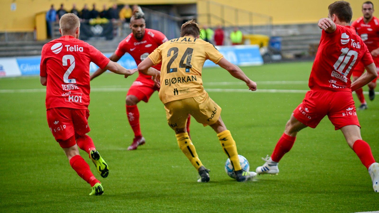 Bodø/Glimt hjemmekamp mot Brann 2019. Fredrik André Bjørkan.