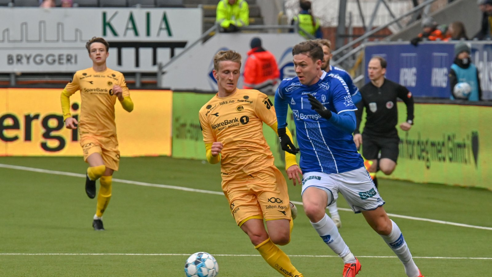 Erlend Dahl Reitan under kampen mot Sarpsborg 08.