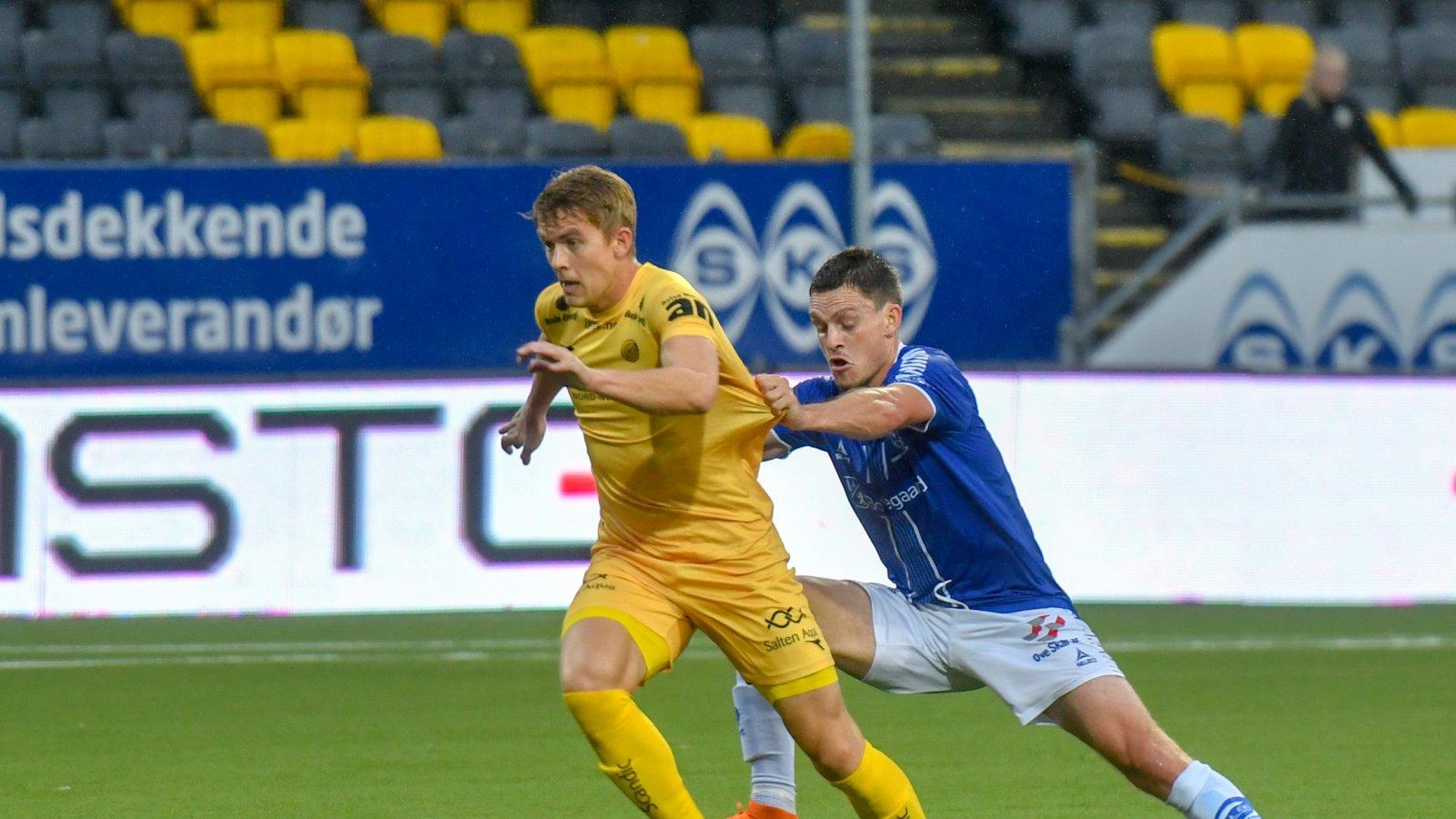 Kristian Fardal Opseth scoret mål under kampen mot Sarpsborg 08.