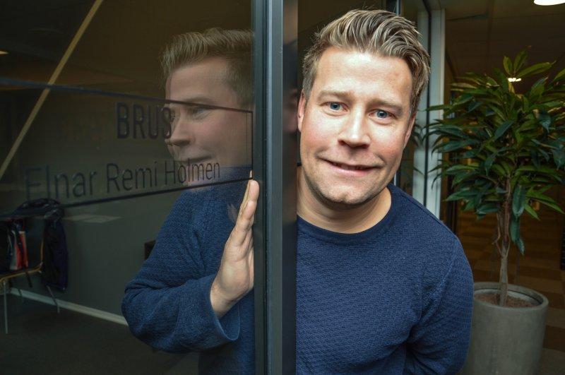 BRUS ved administrerende direktør Elnar Holmen. Foto: Innholdsprodusent i Avisa Nordland, Lise Fagerbakk