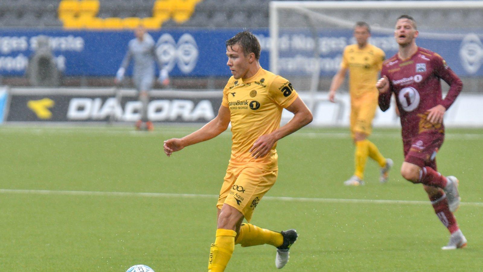 Fredrik André Bjørkan er tilbake etter skade, og spilte i kampen mot Kristiansund.
