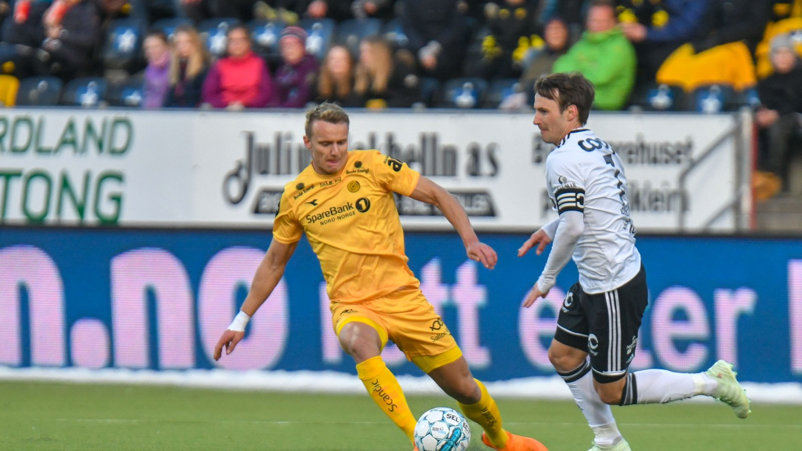 Marius Lode mot Rosenborg.