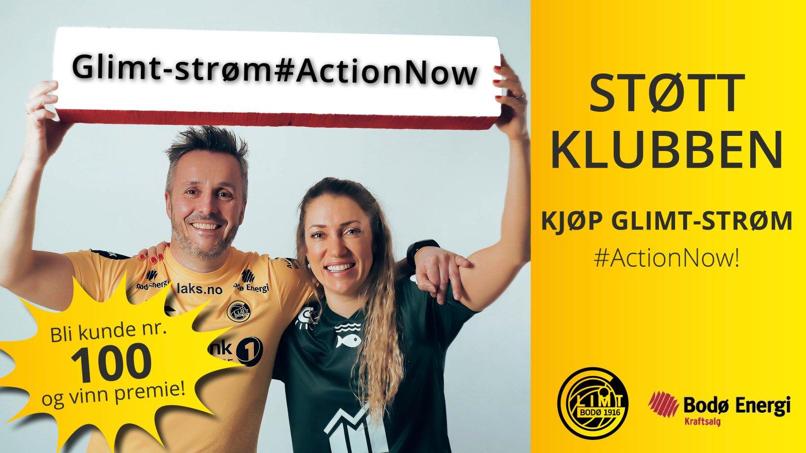 Glimt-strøm #ActionNow Bodø Energi