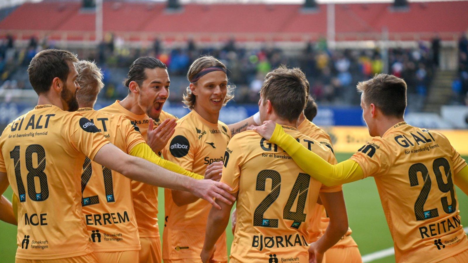 Fredrik André Bjørkan scoret mål i kampen mot Sarpsborg 08.