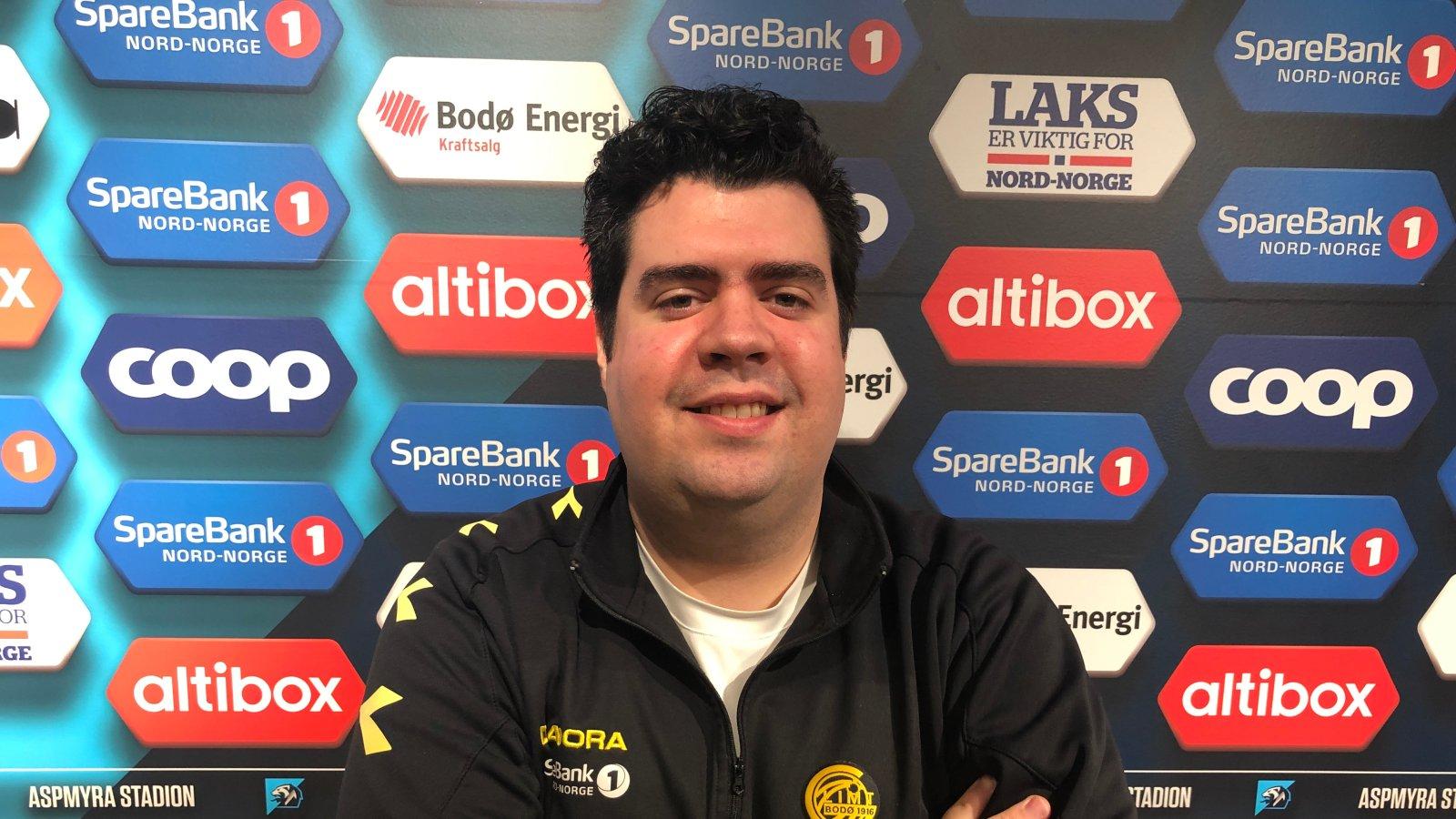Eirik Kolstad, spillerutvikler.
