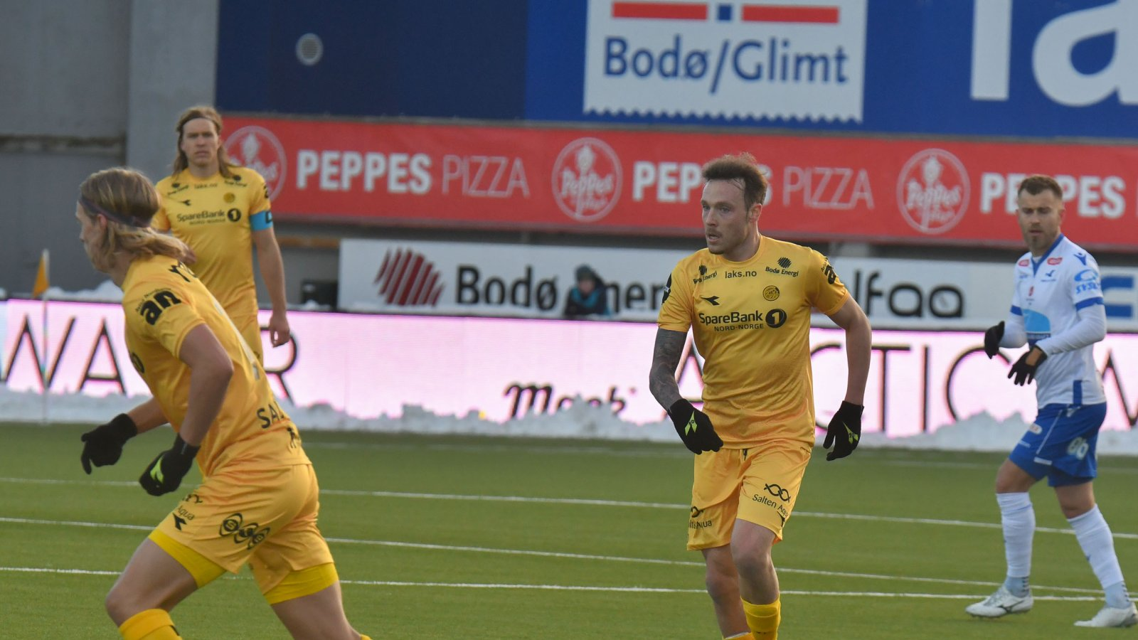 Ulrik Saltnes, Martin Bjørnbak og José Angel.