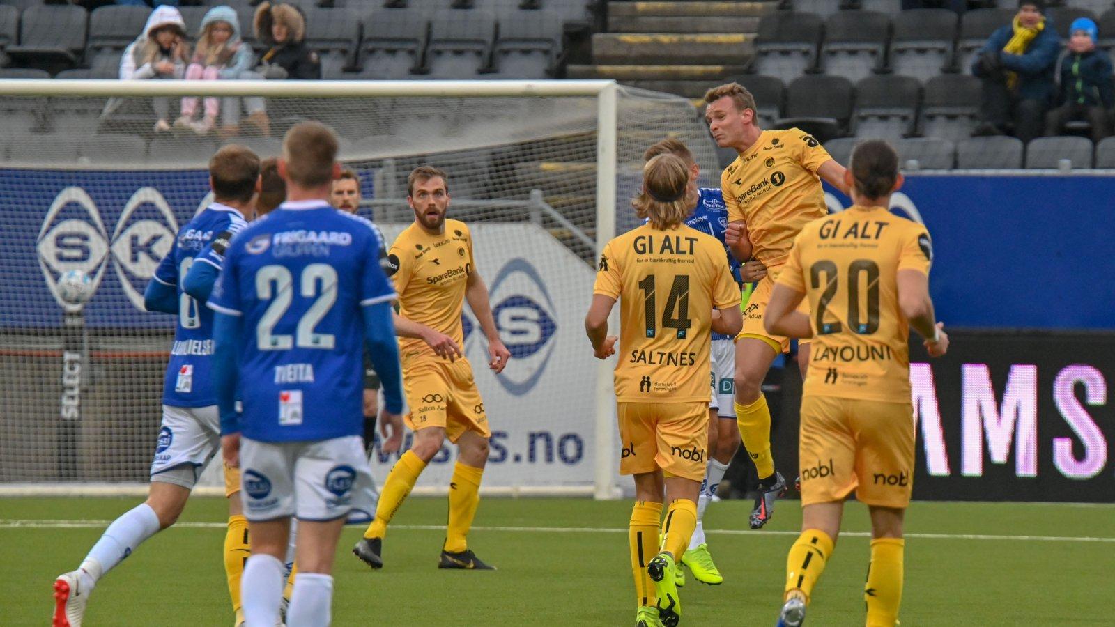 Bodø/Glimt møtte Sarpsborg 08 til kamp 2. påskedag.