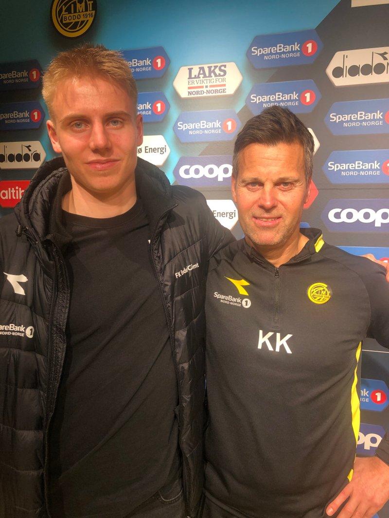 Isak Helstad Amundsen og Kjetil Knutsen.