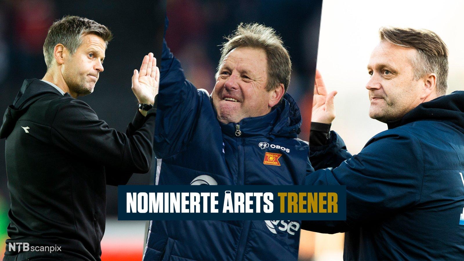 Årets trener. Kjetil Knutsen.