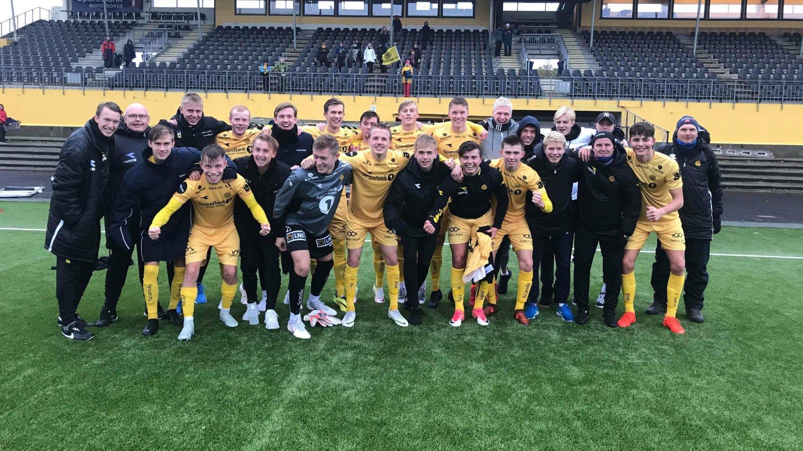 Bodø/Glimt 2 er klare til Norsk Tipping-ligaen.