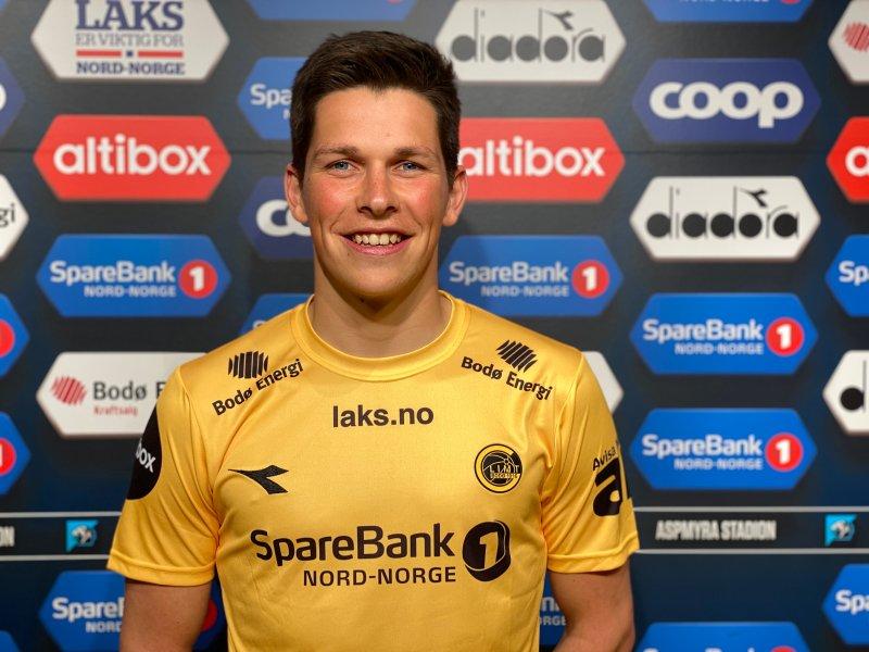 Sondre Brundstad Fet gleder seg til treningskamp mot Tromsø