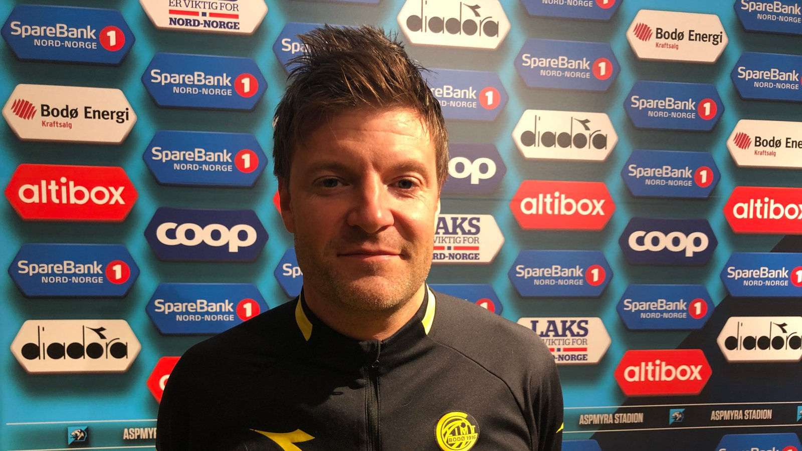 Sportslig leder i Bodø/Glimt, Aasmund Bjørkan.