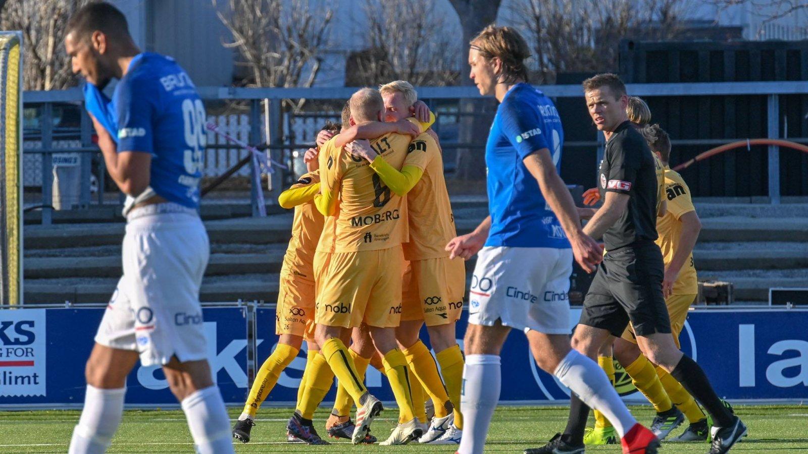 Det ble seier da Bodø/Glimt tok i mot Molde på hjemmebane.
