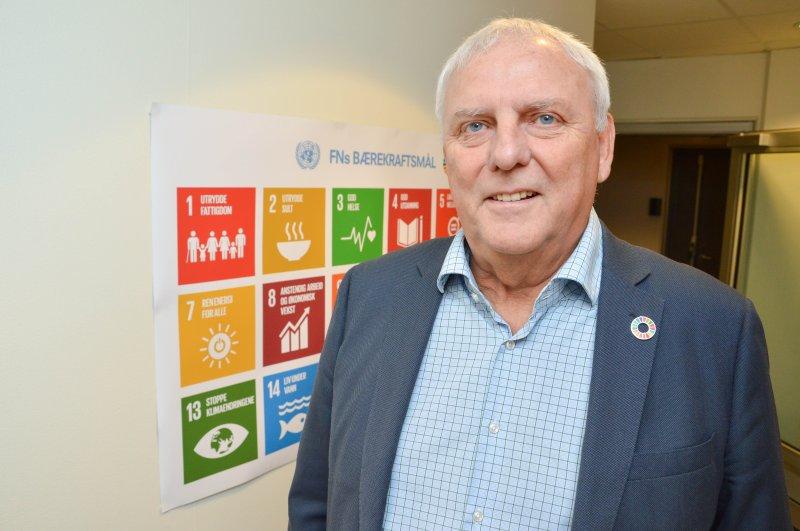 Bodø Energi AS og tre døtre jobber målrettet etter FNs bærekraftmål. Konsernsjef Arne Juell. Foto: Lise Fagerbakk/Avisa Nordland