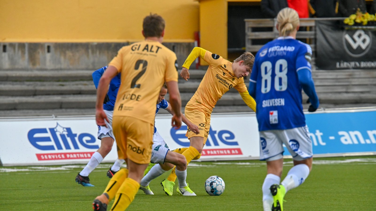 Jens Petter Hauge kom ut under andre omgang av kampen mot Sarpsborg 08.