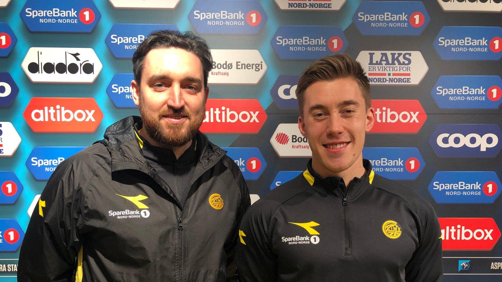 Dan Leivers og Petter Skogsletten er nye i klubben.