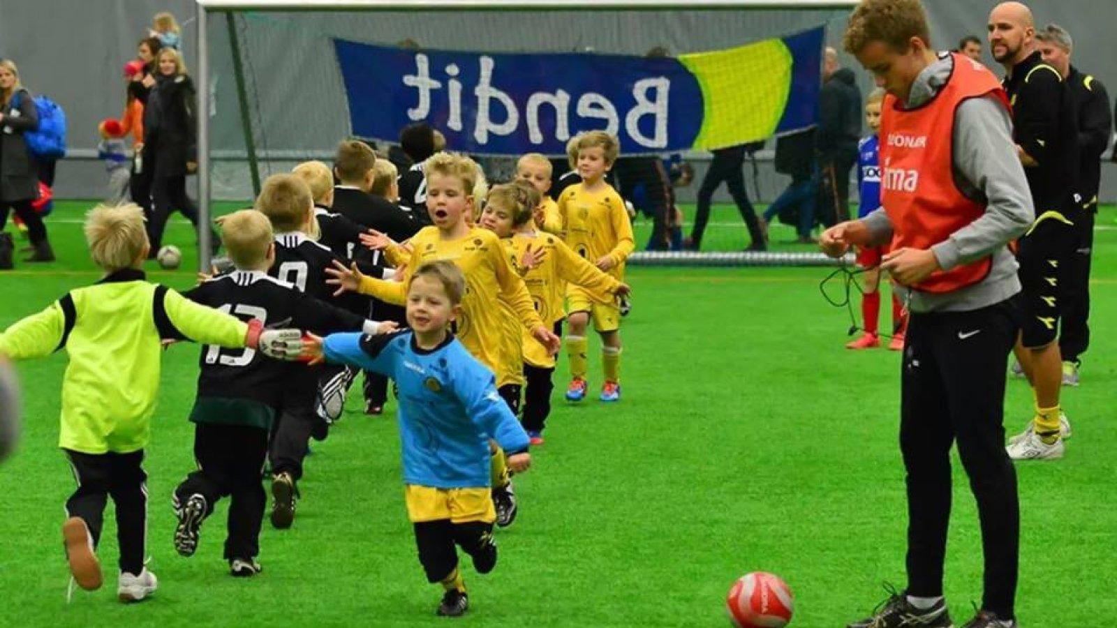 Oppstart fotballag i Bodø/Glimt for gutter født i 2012.