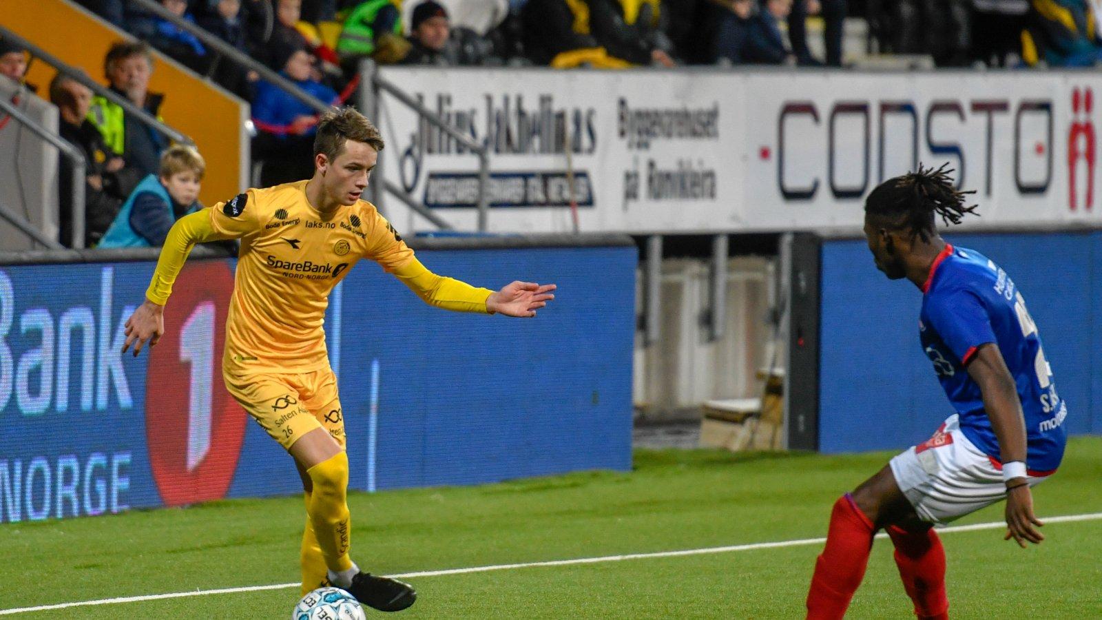 Håkon Evjen mot Vålerenga, sesongen 2018.