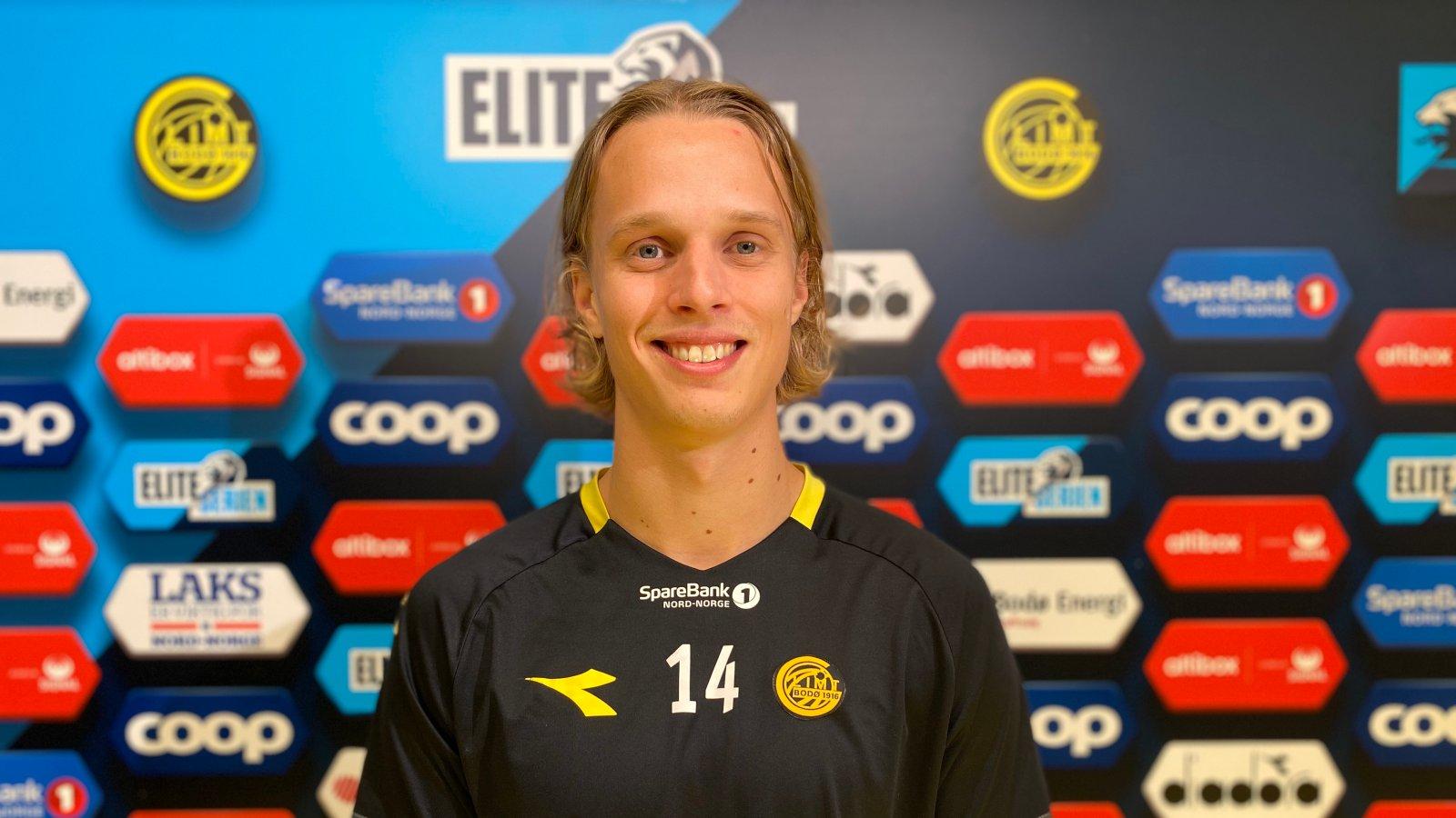 Ulrik Saltnes har forlenget kontrakten med Glimt.